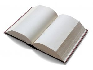 blank book image